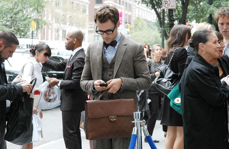 looking sharp.: Men Clothing, Chanel Bags, Bows Ties, Men Style, Men Fashion, Suits, Brad Goreski, Indiana Jones, Vintage Chanel