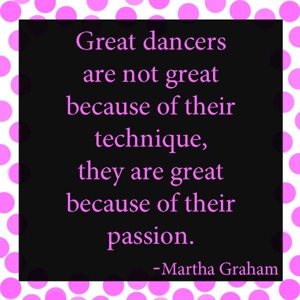 Great dancers...