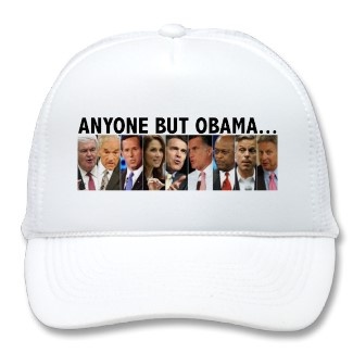 GOP Nine - 2012 Republican Primary Election Mesh Hats