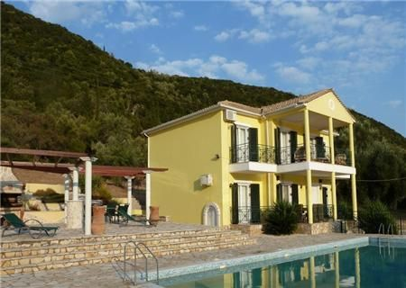 Vacation Rental - Villa Vangelis - 3BR villa with pool, sleeps 6 - Geni, LEFKADA, Greece. Fantastic location. Total seclusion!