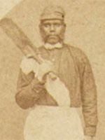 Johnny Mullagh. Aboriginal Australian Cricketer. After the tour most of the players died in obscurity with only a few playing top class cricket again. Johnny Mullagh played for Victoria against Lord Harris' English team in 1879 top scoring in the second innings. He became a professional at the Melbourne Cricket Club and died in 1891.