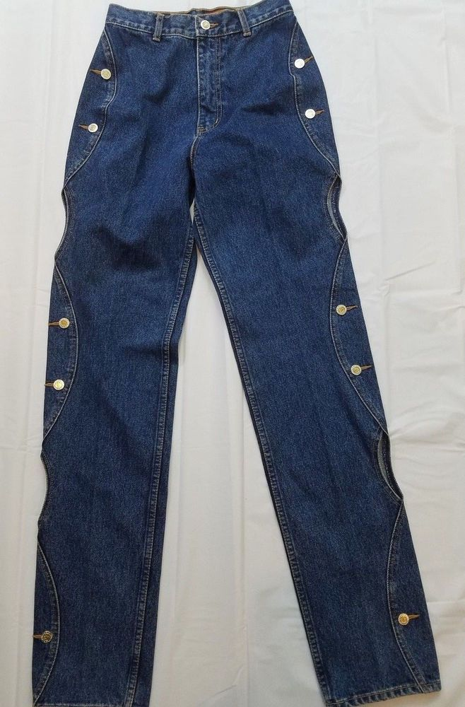 Lawman Western World Class Denim Womens Jeans Open Sided Size 5 #Lawman #StraightLeg