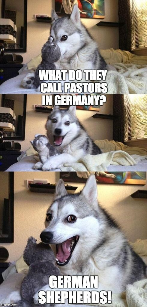 What do they call pastors in Germany? :D #projectinspired #christianhumor #laugh #funny