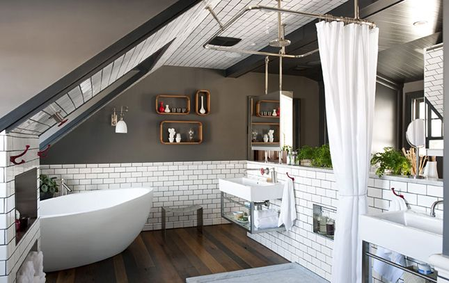 The 18 Most Beautiful Attics You'll Ever See | Brit + Co.