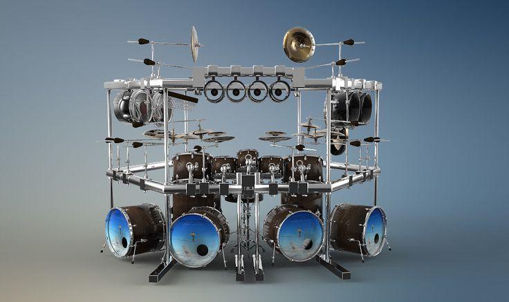 3D Model Dream Theater Mike Mangini - 3D Model