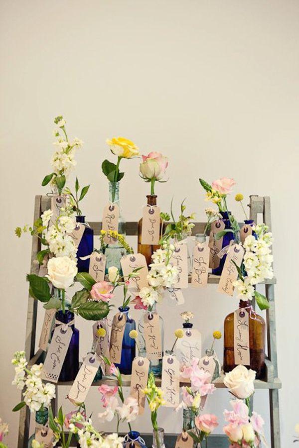 結婚式用の手作り席札・席次表の作り方アイデアの参考作品 | Weddingcard.jp