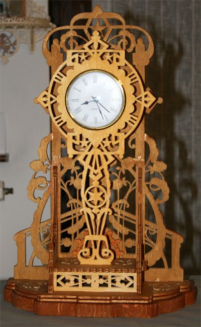 Varese Clock Scroll Saw Fretwork Pattern Scroll Saw