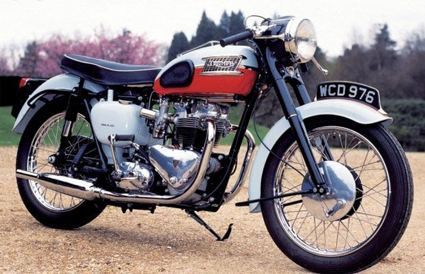 The 50 Biggest Bikes of All Time48. Triumph Bonneville