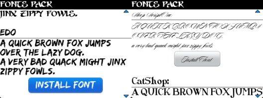 Aplikasi Font BlackBerry Lucu & Unik