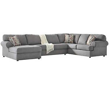 jayceon grey 3pc sectional