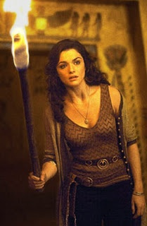 (Rachel Weisz) as Evelyn 'Evy' Carnahan in The Mummy movie series