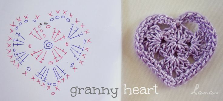 5 Heart Motifs with charts and lots of other links to heart patterns by Lanas de Ana.
