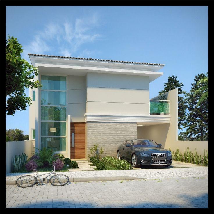 Fotos de fachadas de casas duplex for Modelos de casas fachadas fotos