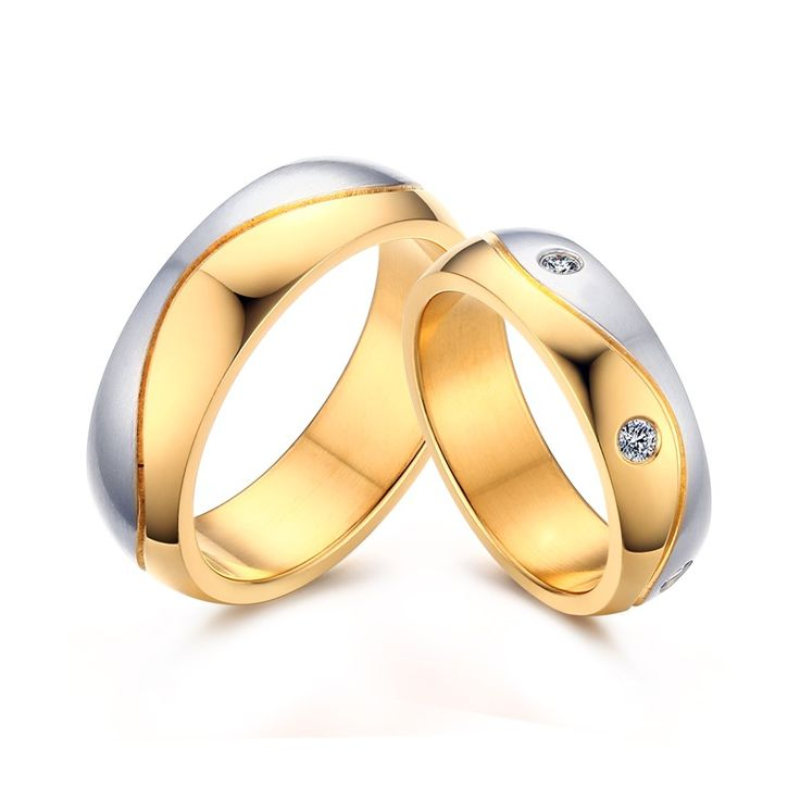 44 best Stainless steel wedding ring images on Pinterest