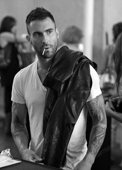 Adam Levine. Yes hes in w/ the food. thats how delicious he is.