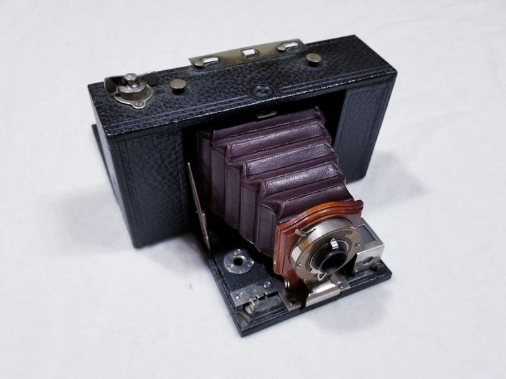 Antique Folding Brownie Box Camera Model A No. 2 Eastman Kodak 1903 | eBay