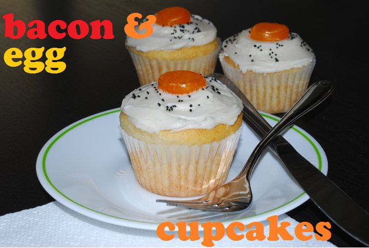 Bacon & Egg Cupcakes | The Domestic Rebel