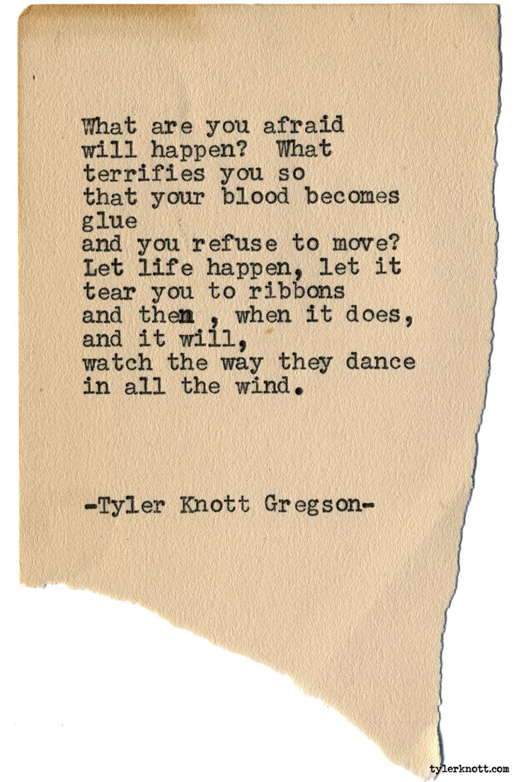 """tylerknott: """"Typewriter Series #1923 by Tyler Knott Gregson Check out my Chasers of the Light Shop! chasersofthelight.com/shop """""""