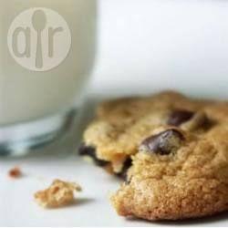 Koekjes met donkere chocolade stukjes @ allrecipes.nl