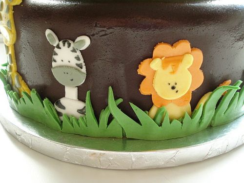 baby shower safari cake - Google Search