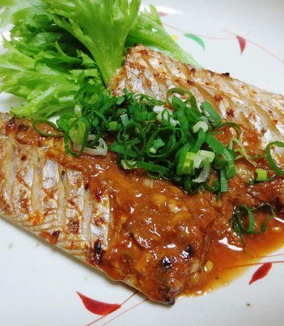 太刀魚の胡麻豆板醤焼き【ちょっとピリ辛♪】 by syu♪さん   レシピ ...