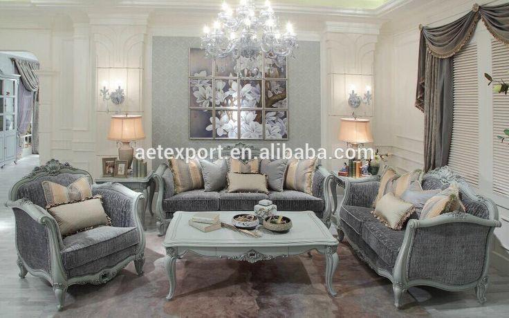 Luxe fran ais baroque canap mobilier design classique salon canap tissu can - Canape classique tissu ...