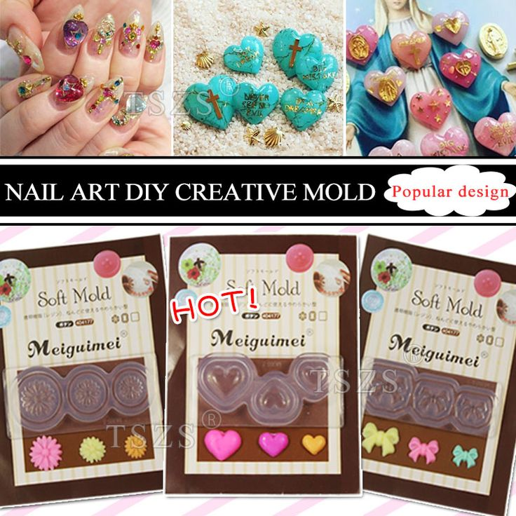 35 best molds images on Pinterest | 3d nails art, Altered art and ...