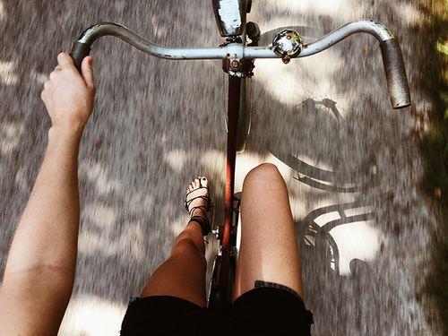 bike, photo, and vintage image