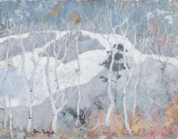 Anne Redpath, Birch Trees Near Blair Atholl