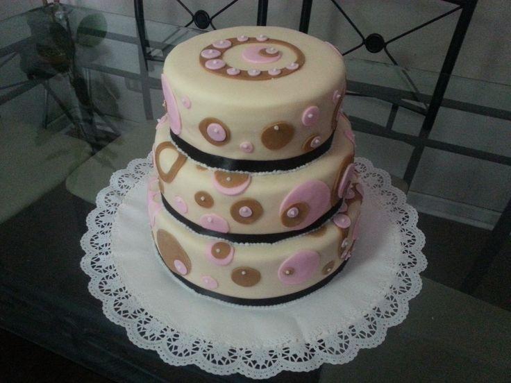 Torta especial, cada piso de diferente sabor