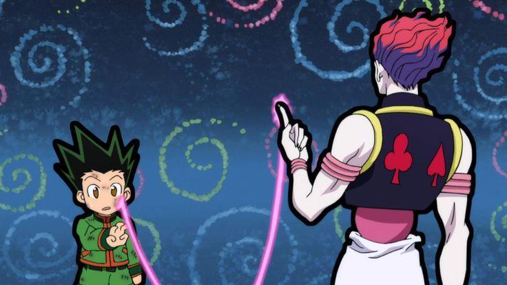 Hunter x Hunter Hisoka and Gon Bungee Gum Wallpaper   anime   Pinterest   Hunters, Wallpapers ...