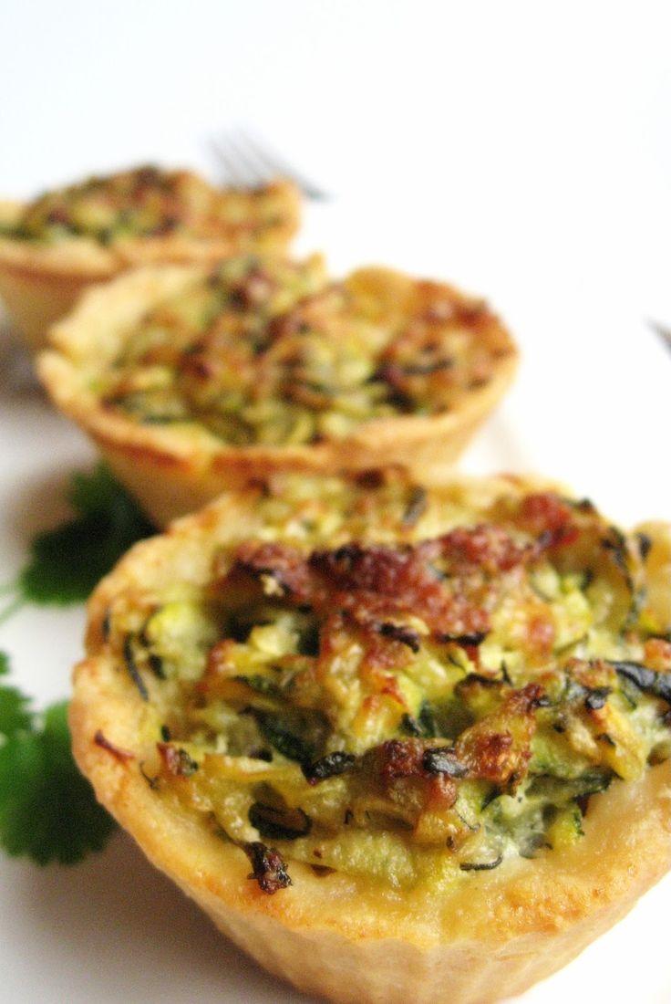 relaxotour: Mascarponés cukkinis kosárkák – Zucchini tartlets