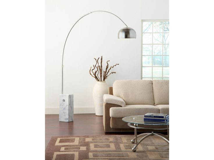 Arco Lamp Reproduction by Poly + Bark