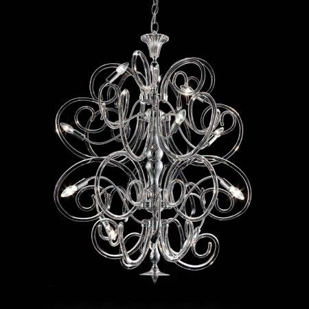 Artistic #Murano's #chandelier worked exclusively by hand with the ancient art of #Murano #glass masters from #Venice. Visit our web site www.sognidicristallo.it to see or buy online our creations!