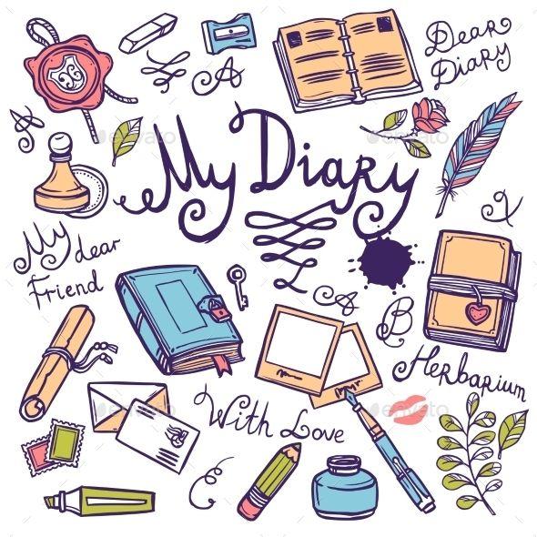 Diary Writing Instrument Set