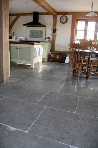 Old Grey Limestone Flagstone Tiles