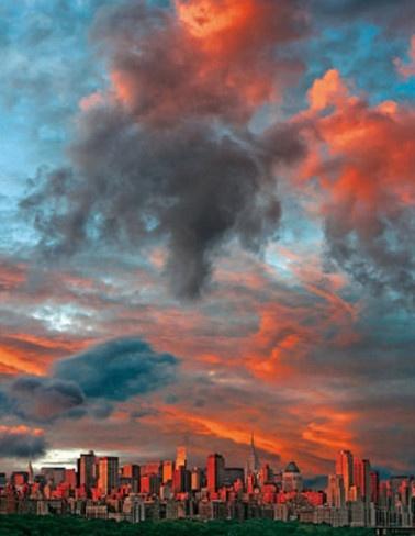 Sky over New York City >>> Beautiful!