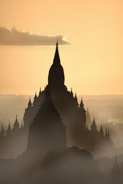 ღღ Twilight in Bagan is one of the most beautiful experiences in the world. Explore Myanmar with Enchanting-Asia. www.enchanting-asia.com