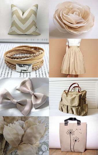 Pure Beige by Needle And Line on Etsy--Pinned with TreasuryPin.com