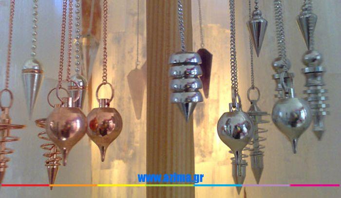 Εκκρεμές Κρυστάλλων και Λίθων και η ενέργεια τους