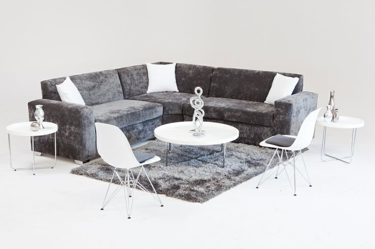 Grey with a touch of  white lounge pod
