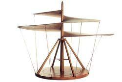 modelo de helicóptero de Da Vinci