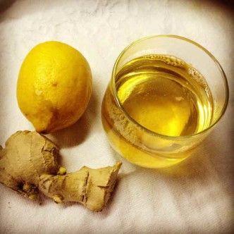 Sumo de chá verde com limão e gengibre, ajuda na dieta