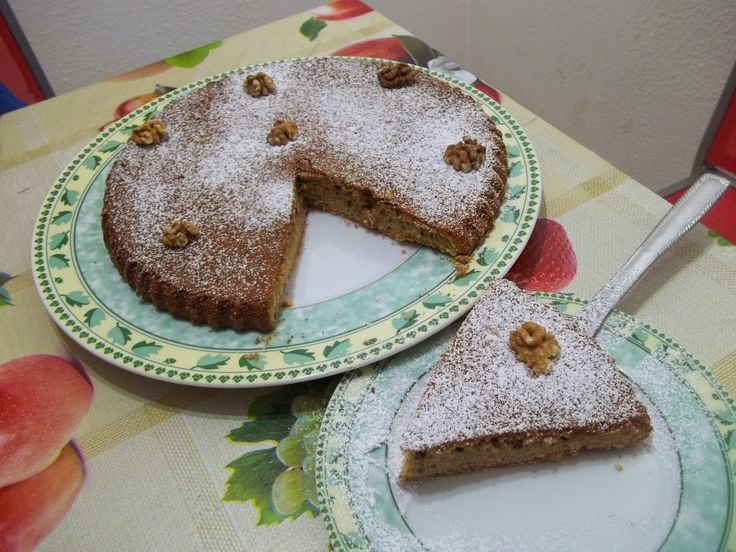 #Ricette - #Torta soffice alle noci