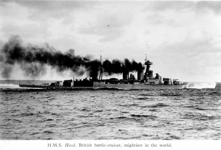 Iconic 15 in battlecruiser HMS Hood at 30 knots between the wars: she was in build when the concept was badly discredited at Jutland in 1916 (3 lost to catastrophic magazine explosions): no more were laid down subsequently. Though extra armour was worked into her she was not fit to face a modern battleship - which was what she encountered in Bismarck in May 1941.