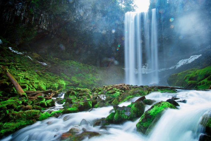 This #easy #hike to #Tamanawas #Falls In #Oregon will blow you away.