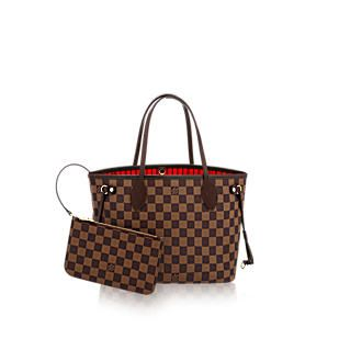 My new bag- Neverfull PM Damier Ebene Canvas - Handbags | LOUIS VUITTON £670