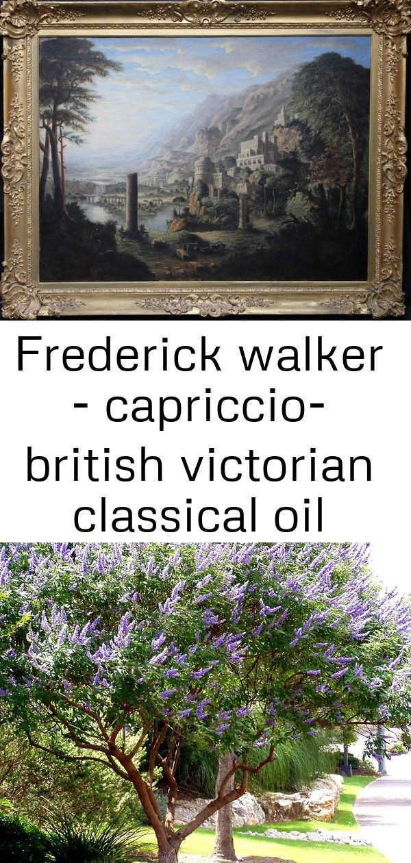 Frederick Walker Capriccio British Victorian Classical Oil Panoramic Landscape Architecture Lak 5 Landscape Panoramic Landscape Architecture