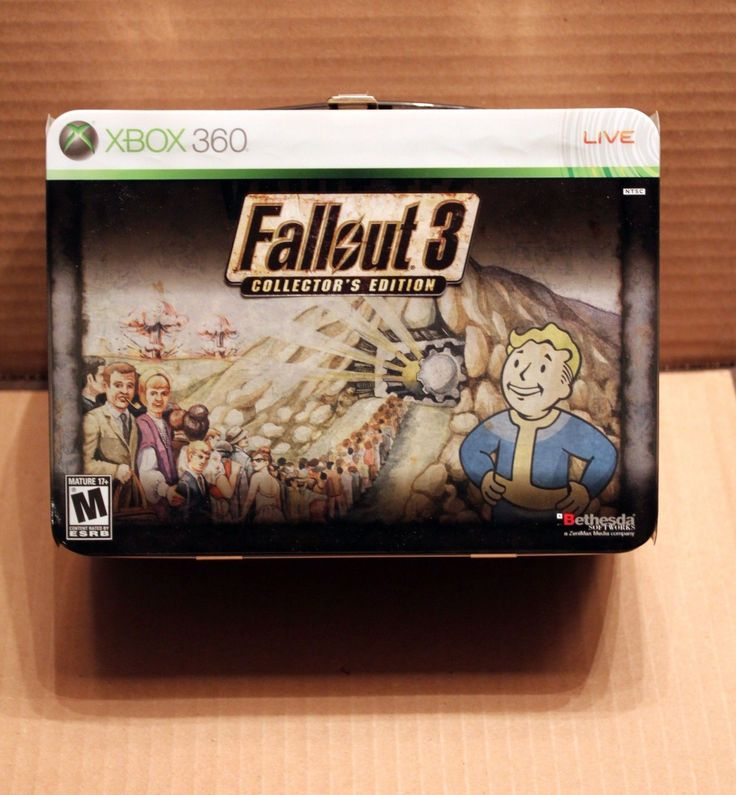 Fallout 3 Collector's Edition Xbox 360 , bonus pre order cd and poster: $80.00 End Date: Tuesday Jan-23-2018 23:51:27 PST Buy It Now for…