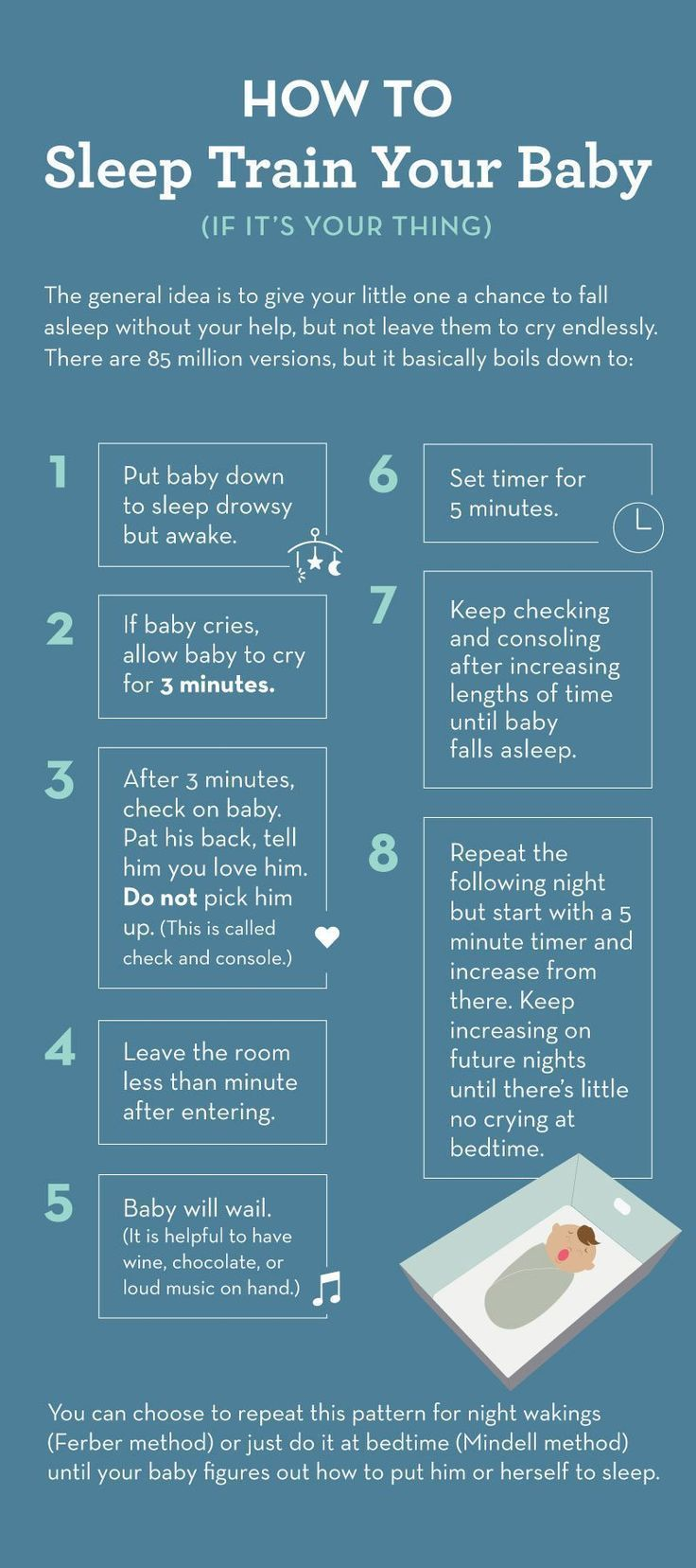 I Read All The Baby Sleep Books So You Don't Have To   Nursery Ideas   Pinterest   Step guide, Routine and Chart